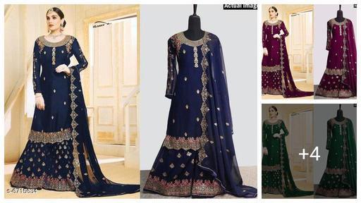 Abhisarika Drishya Salwar Semi Stitched Suits