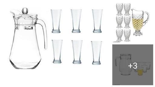 Attractive Glasses & Jugs