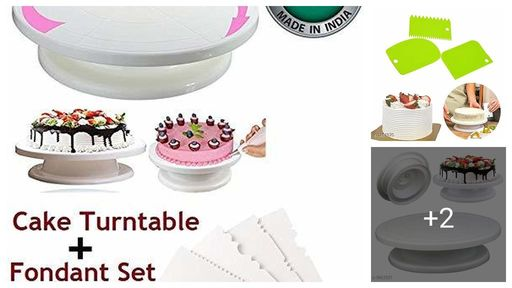 Best Quality Cake Decorating Turntable Stand