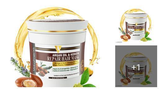 Volamena Argan oil & Keratin repair Hair Mask