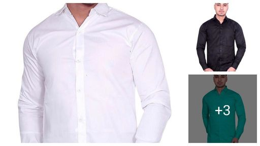 Elegant Men's Cotton Shirt