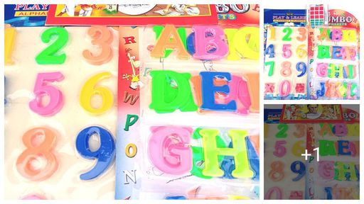 Alphabet And Children Book Combo For Kids