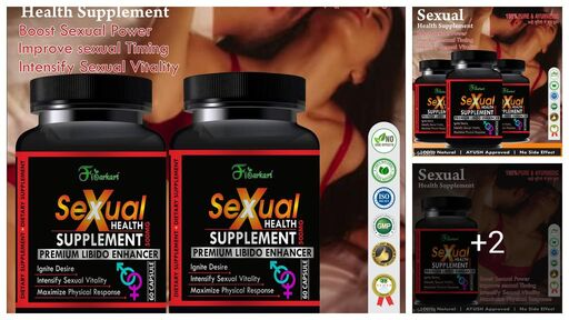 Sexomen Herbal Capsules For Improve Sexual Confidence 100% Ayurvedic