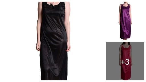 Trendy Women's Satin Nightdress