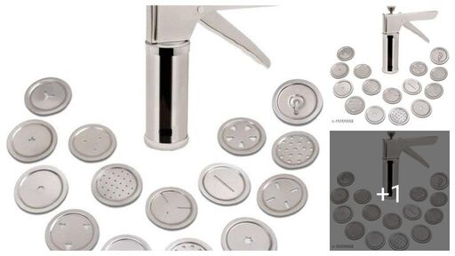 15 Pattern Discs Kitchen Press(Pack of 1)