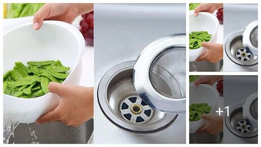 Stylish Sink Strainer Combo