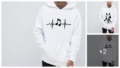 Trendy Men's Fleece Hoodies Sweatshirts