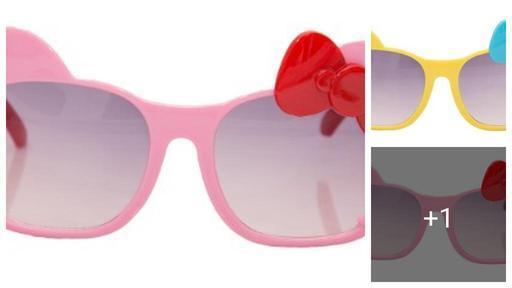 Trendy Plastic Kid's Sunglasses