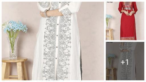 Designer Printed Women's Kurta Sets
