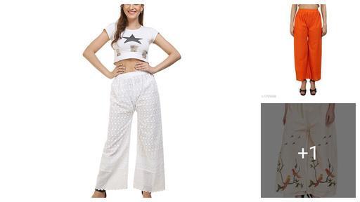 Comfy Cotton Chikankari & Cotton Palazzos