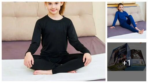 Pretty Attractive Kids Girls Thermals