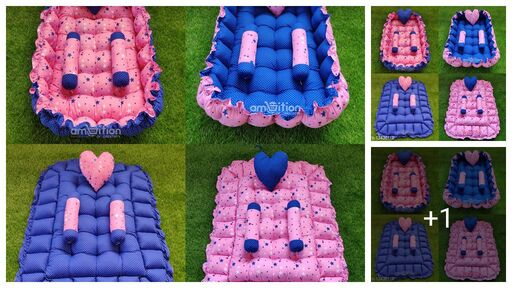 Trendy Baby Bed With Pillow
