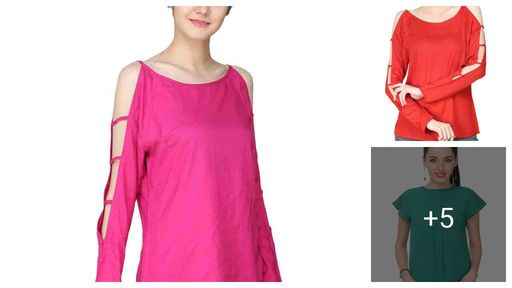 Stylish Rayon Tops