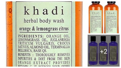 Khadi Herbal Standard Body Wash