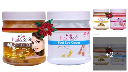 Pink Root Proffesional Relief Foot Cream
