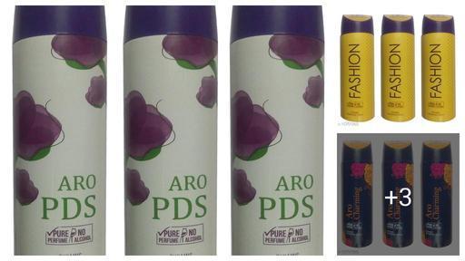 Trendy Deodorant Spray Combo