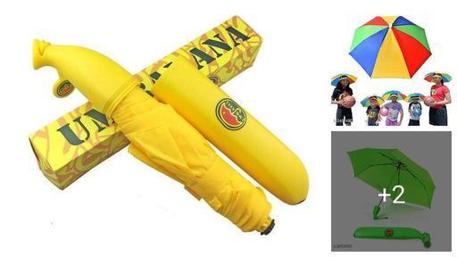 Trendy Plastic Umbrellas