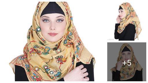 Aakarsha Refined Hijab - Muslim Wear