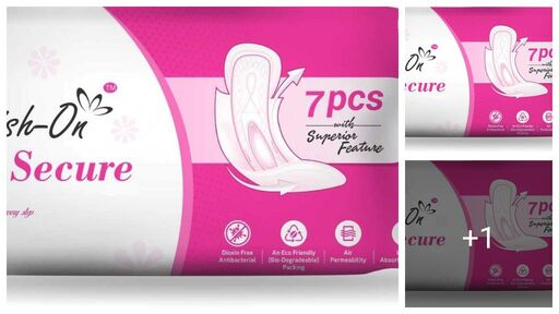 New Collections Of Menstrual/Sanitary pads