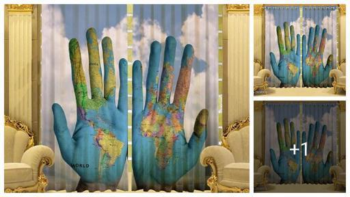 Attractive Polyester Door Curtains