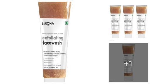 Sirona Natural Exfoliating Face Wash