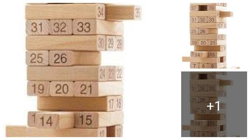 Classic Wooden Block For Kids