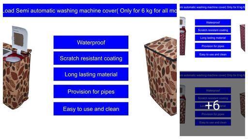 Attractive Washing Machine Covers