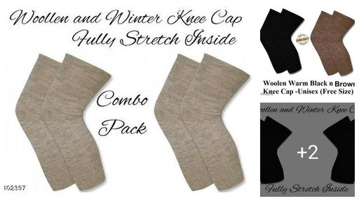 Wool Unisex Knee Caps