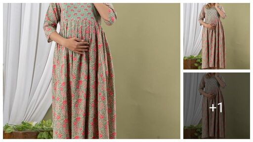 Pretty Designer Women Maternity Dresses