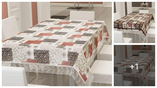Dream Home Trendy Printed Table Covers