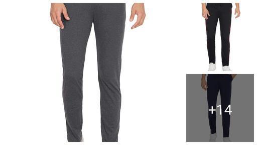 Trendy Cotton Men's Track Pants