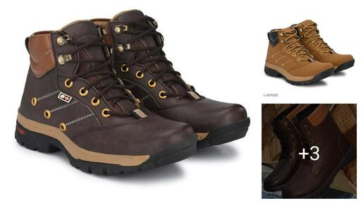 Trendy Stylish Synthetic Leather Men's Boots