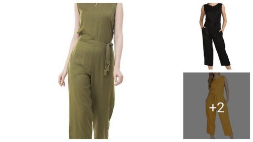 Stylish Rayon Solid Women's Jumpsuits