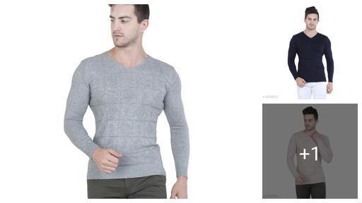 Stylish Wool Men's Sweater