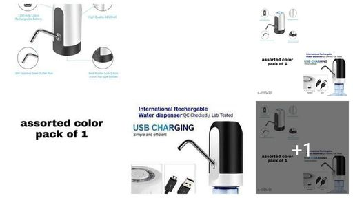 Advanced Basic Wireless Water Can Dispenser Pump