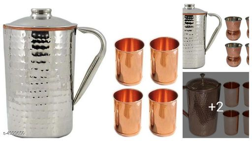 Trendy Lovely Copper Bottles & Jugs