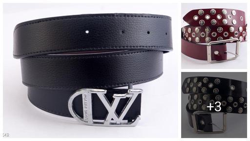 Unique PU Leather Men Belts