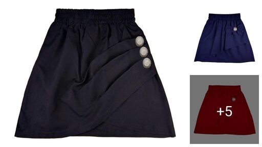 Cute Stylus Kids Girls Skirts