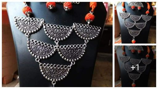 Trendy Oxidised Jewellery Sets