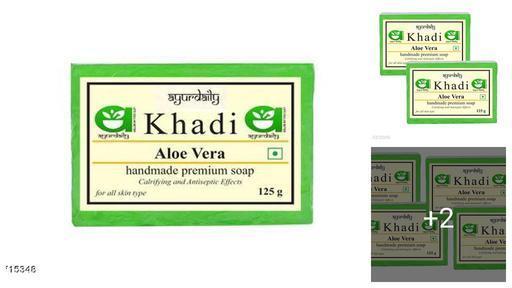 Ayurdaily Khadi Aloevera Soap Product