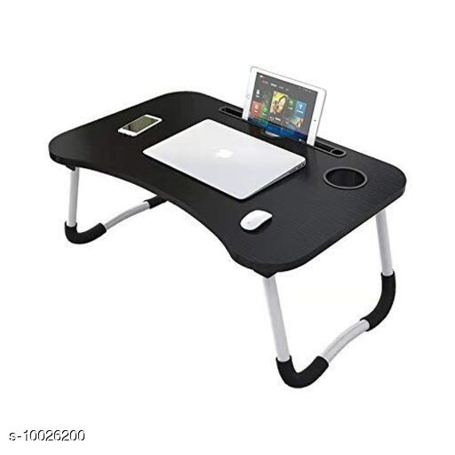 Other Computer Accessories Foldable Laptop Table Product Name :Foldable Laptop Table Material: Primary Material : Wood ,Secondary Material : MFB Multipack: 1 Sizes :  Width Size-60 cm Height Size -27 cm Depth Size -40 cm Sizes Available: Free Size *Proof of Safe Delivery! Click to know on Safety Standards of Delivery Partners- https://ltl.sh/y_nZrAV3  Catalog Rating: ★4 (119)  Catalog Name: Foldable Laptop Table CatalogID_1791890 C106-SC1406 Code: 285-10026200-