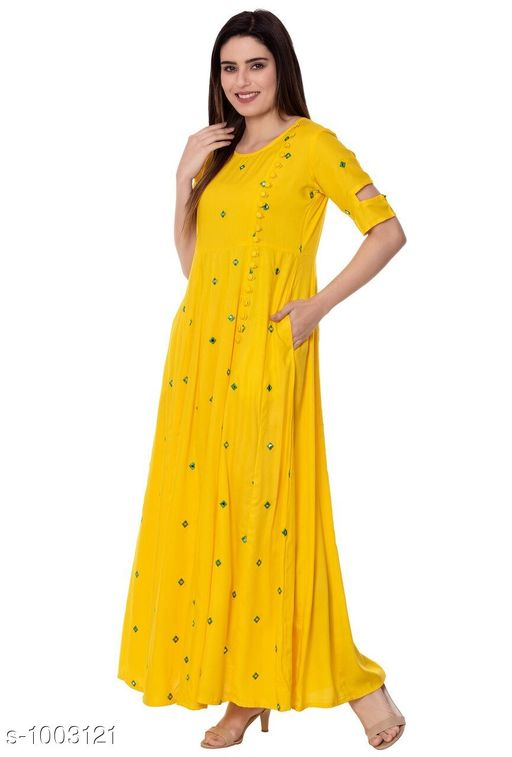 Kurtis & Kurtas Designer Style Designer Kurtis   *Fabric* Cotton  *Sleeves* 3/4 Sleeves Are Included  *Size* Kurti - S- 36 in, M- 38 in, L- 40 in, XL- 42 in , XXL - 44 in , 3XL - 46 in  *Length* Up To 46 in  *Type* Stitched  *Description* It Has 1 Piece Of Kurti  *Work* Printed    *Sizes Available* S, M, L, XL, XXL, XXXL, 10XL *    Catalog Name: Designer Style Designer Kurtis Vol 2 CatalogID_120168 C74-SC1001 Code: 005-1003121-