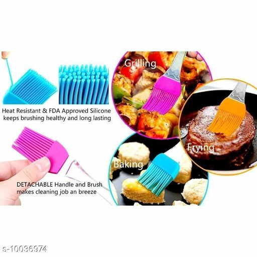 Ladles & Spatula mamadev oil spatula for cooking(multicolor)  *Sizes*  Free Size  *Sizes Available* Free Size *    Catalog Name: Graceful Ladles & Spatula CatalogID_1794481 C135-SC1655 Code: 122-10036974-