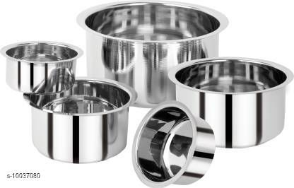 Patila Tope Set of 5 (Stainless Steel)