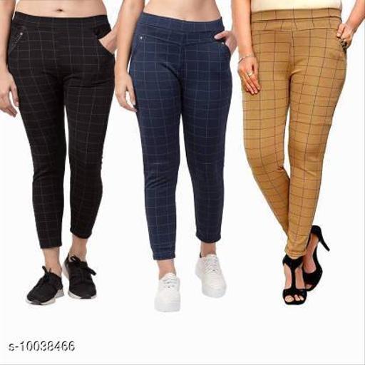 Women's Check Pants