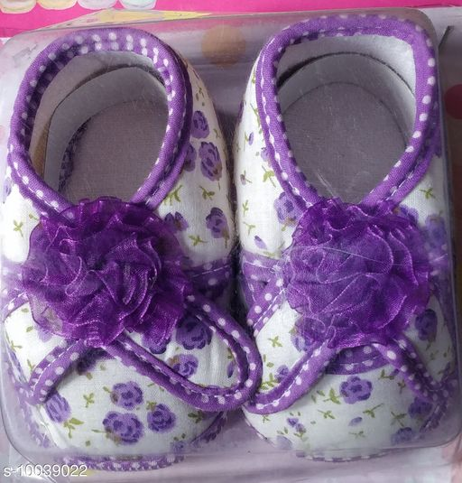 Casual Shoes KIDS SHOES  *Material* Textile  *Sole Material* Rubber  *Multipack* 1  *Sizes*  6 Months  *Sizes Available* 6 Months *    Catalog Name: Attractive Elegant Kids Girls Casual Shoes CatalogID_1794975 C60-SC1164 Code: 443-10039022-