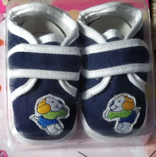 Casual Shoes KIDS SHOES  *Material* Textile  *Sole Material* Rubber  *Multipack* 1  *Sizes*  6 Months  *Sizes Available* 6 Months *    Catalog Name: Attractive Elegant Kids Girls Casual Shoes CatalogID_1794975 C60-SC1164 Code: 443-10039023-
