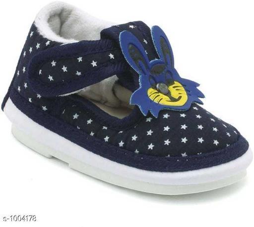 Classy Boy's Navy Blue Booties