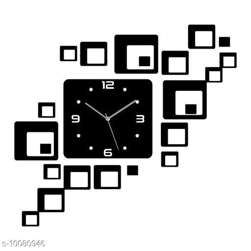 Trendy Décor Acrylic Wall Clock