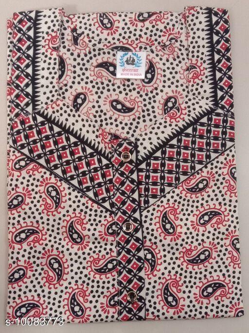 Nightdress Nightdress  *Fabric* Cotton  *Sizes*  XL  *Sizes Available* XL *    Catalog Name: Trendy Alluring Women Nightdresses CatalogID_1806100 C76-SC1044 Code: 803-10083773-